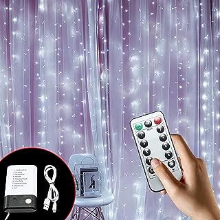 Best pre lit curtains Reviews
