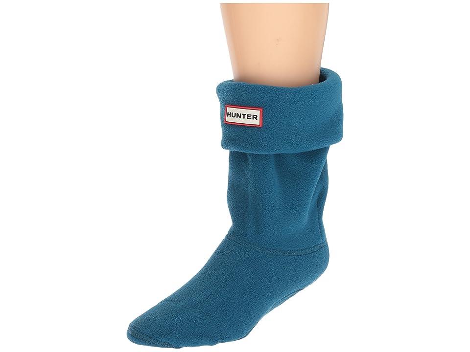 Hunter Short Boot Socks (Ocean Blue) Crew Cut Socks Shoes