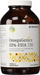 Metagenics EPA-DHA 720 Lemon 240 softgels