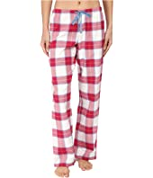 Life is Good - Berry Plaid Classic Sleep Pant