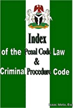 Index of the Penal Code Law & Criminal Procedure Code