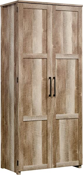 Sauder 423496 Homeplus Storage Cabinet Lintel Oak Finish