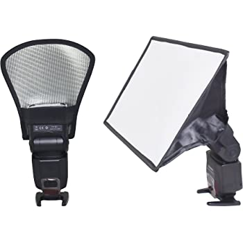 Color : As shown , Size : 6pcs Photographic reflector White Universal Camera Astigmatism Diffuser Pouch Soft Cover Flash Cloth Cover Photographic Equipment Accessories Suitable for photographers