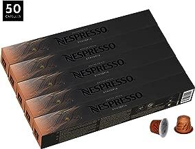 Nespresso Master Origin Ethiopia OriginalLine Capsules, 50 Count Espresso Pods, Intensity 4 Blend, 100% Ethiopian Arabica with Floral Coffee Flavors