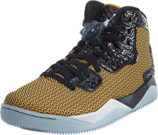 Nike air Jordan Spike Forty Mens hi top Basketball Trainers 819952 Sneakers Shoes (US 10.5, Gold Leaf White mid Navy 706)