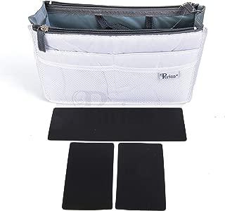 Periea Chelsy Premium Rigid Purse Handbag Organizer Insert - 14 Colors - 3 Sizes