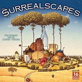 Surrealscapes: The Fantasy Art Of Jacek Yerka 2018 Wall Calendar (CA0165)