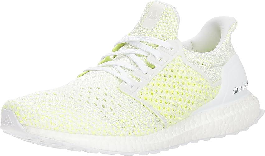 Adidas Men's Ultraboost Clima Running chaussures, Cloud blanc Cloud blanc Solar jaune, 8 M US