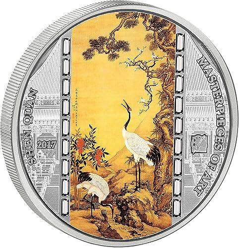 El ultimo 2018 Shen QUAN Masterpieces of of of Art 3 Oz Moneda plata 20  Cook Islands 2017  la calidad primero los consumidores primero