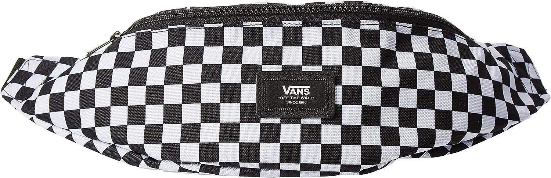 Vans Mini Ward Crossbody Bag Black/White Check One Size