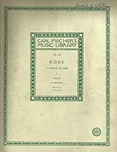 Rode Twelve Etudes for Violin (Fr.Hermann) Carl Fischer No.770