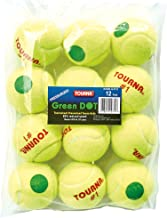 Tourna Green Dot Low Compression Tennis Balls