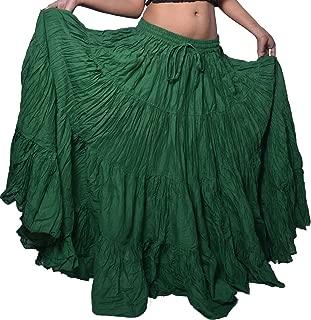 green gypsy skirt