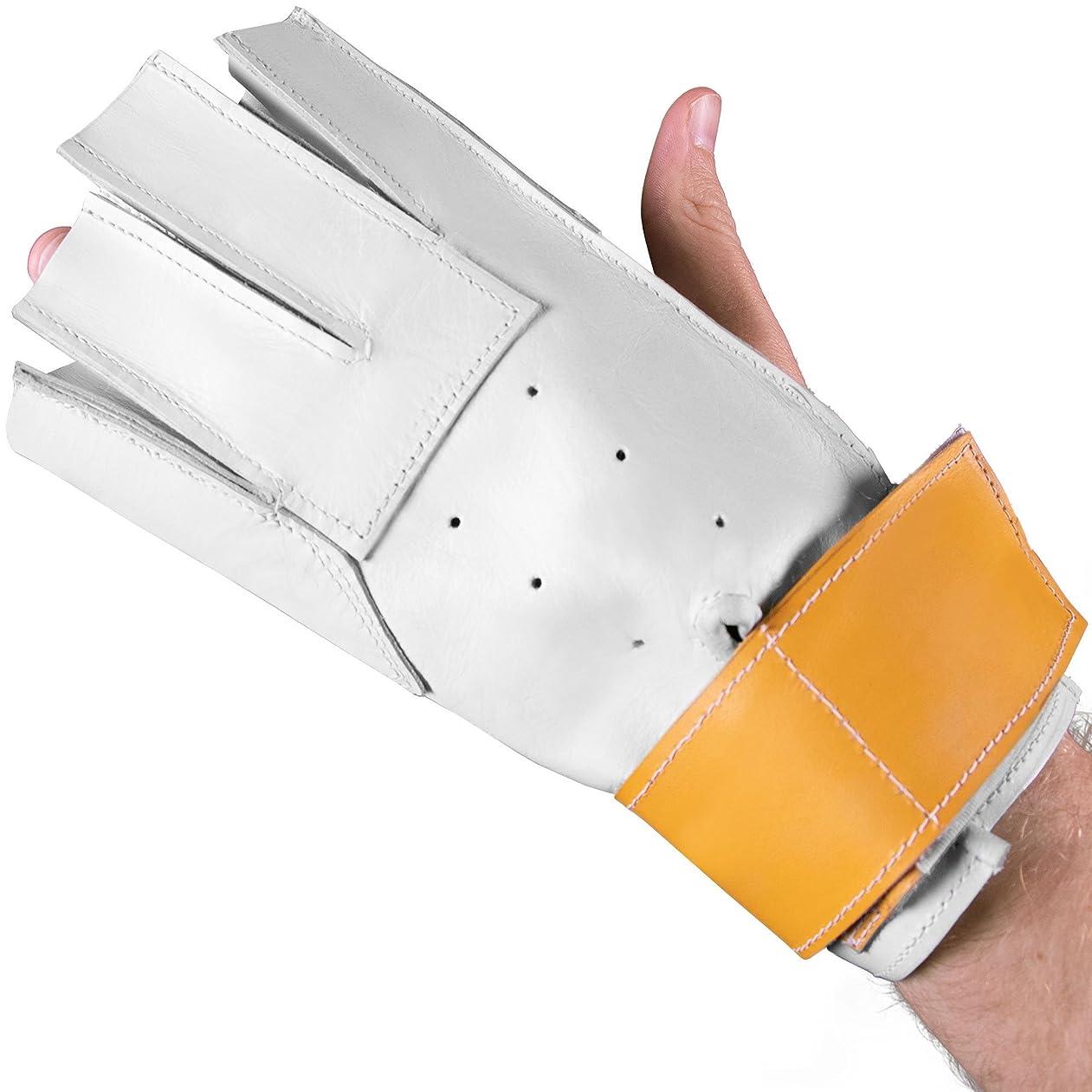 配る資源心臓クラウンスポーツ用品Hammer Throwグローブ、Left Handフィットfor Right Handed Throwers?–?トラック&フィールド機器のベスト?プラクティス、トレーニング、競技会