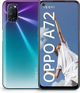 OPPO A72 Single-SIM 128GB ROM + 4GB RAM Factory Unlocked 4G/LTE Smartphone (Aurora Purple) - International Version
