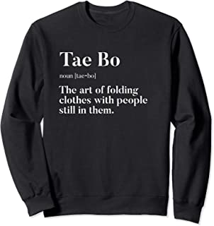 Tae Bo | Definition | Folding Clothes With People In Them | Sweatshirt