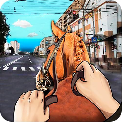 Drive Horse In City Simulator