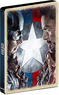 Capitão América: Guerra Civil - Steelbook [Blu-Ray]