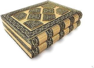 SIXFIRE® Handicraft Jewelry Box Vanity Box Wedding Gift Box Bangle Box Wood Jewellery Box Wedding Rakhi Gift,-Multi-Colour