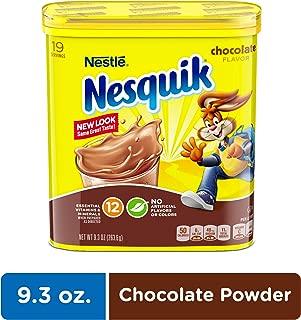 NESQUIK Chocolate Cocoa Powder, 9.3 Oz. Tub | Chocolate Milk Powder