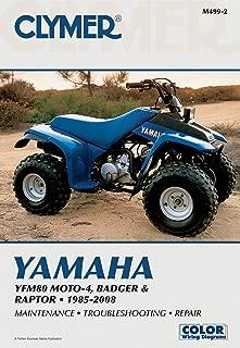 1985-2008 YAMAHA YFM80 MOTO 4 SERVICE MANUAL - YAMAHA ATV, Manufacturer: CLYMER, Manufacturer Part Number: M499-2-AD, Stock Photo - Actual parts may vary.