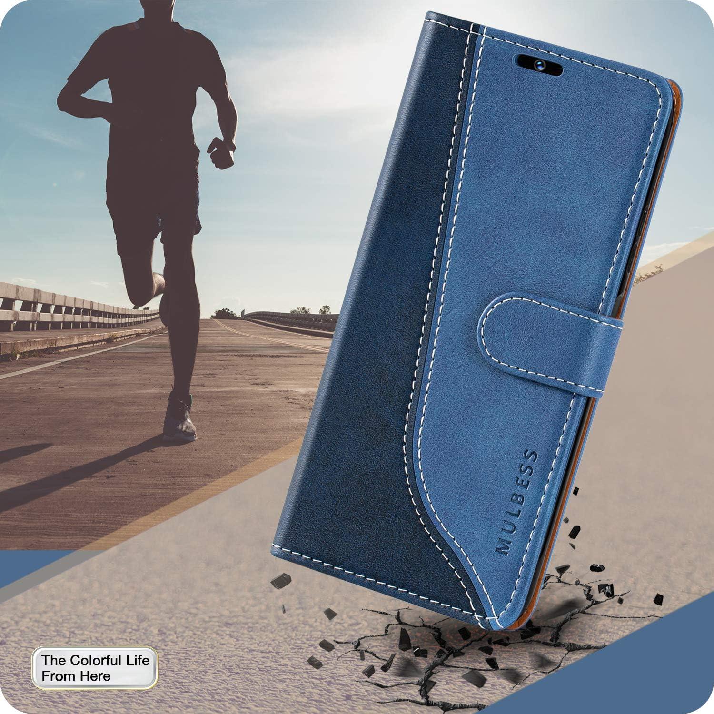 Funda con Tapa Xiaomi Redmi Note 8 Pro Funda Xiaomi Redmi Note 8 Pro Libro Mulbess Funda para Redmi Note 8 Pro Verde Mint Funda Cartera para Xiaomi Redmi Note 8 Pro Carcasa