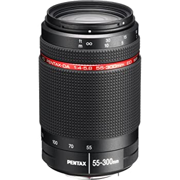 Pentax HD DA 55-300mm f/4-5.8 ED WR 55-300mm Zoom Lens for Pentax KAF Cameras