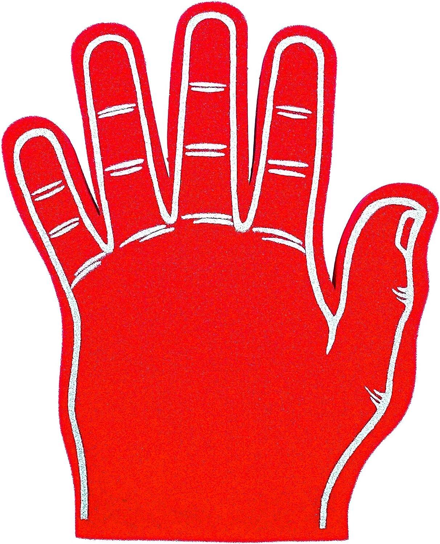 foam hand magic trick