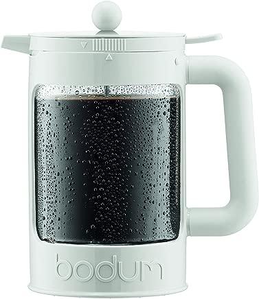 Bodum K11683-913US-1 BEAN Cold Brew Coffee Maker, 51 Oz, Bright White