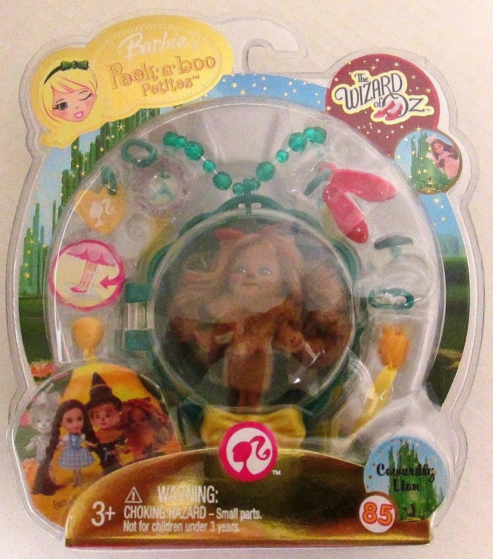 Barbie Peekaboo Petites Wizard of Oz Cowardly Lion  85 by Mattel