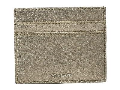 Madewell Card Case Metallic (Metallic Sand) Handbags