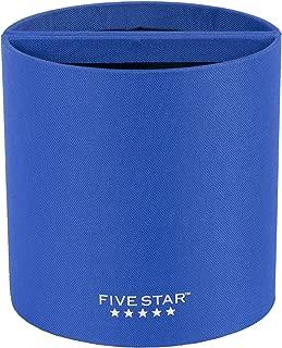 Five Star Locker Accessories, Split Pencil Cup, Magnetic, Blue (72258)