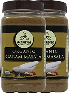 Organic Garam Masala, 2lbs (2 unit of 1lbs each) - 100% Pure, Natural & USDA Organic Certified
