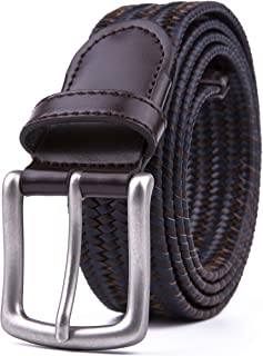 Elastic Fabric Woven Stretchy Braided Belts for Men & Women, Sports Belts