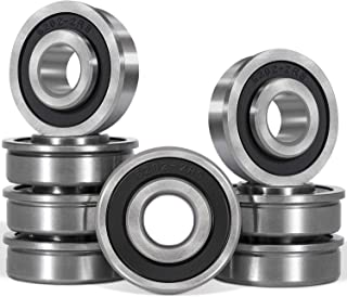 Yoursme 8PCS Flanged Ball Bearing ID 1/2