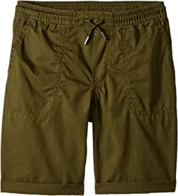 Relaxed Fit Cotton Shorts (Little Kids)