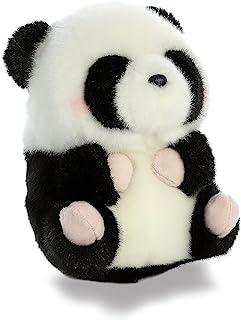 "Aurora - Rolly Pet - 5"" Precious Panda, Black, White"