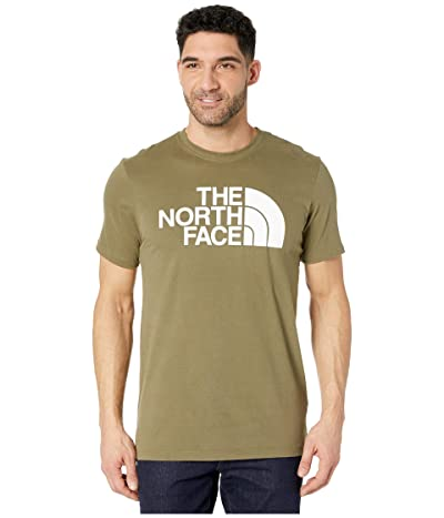 The North Face Short Sleeve Half Dome T-Shirt (Burnt Olive Green) Men