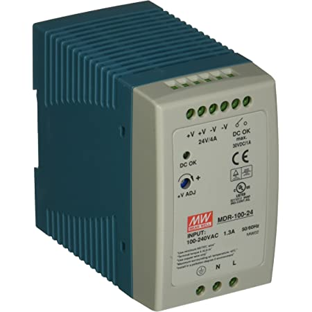 Meanwell dr-100-24 Switching Power Supply 100w 24v 4,2ma DIN Rail Power Supply 855876