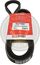 RECMAR Alternator Belt for Yanmar 4JH2-DTE, E, HTE, TE, UTE 4JH3, TE, HTE 4JH-DTE RO: 25132-004600