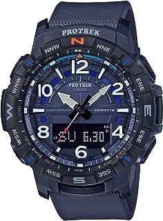Casio Mens Quartz Watch, Analog-Digital Display and Strap - PRT-B50-2DR
