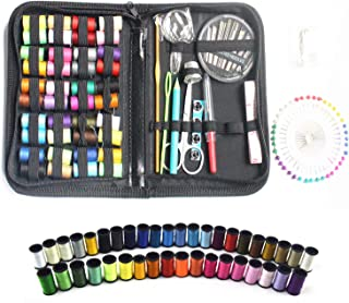 Sewing Kits, Cozysmart Sewing Supplies for DIY, Beginners, Adult, Travel and Home,Sewing Set with Scissors, Thimble, Threa...