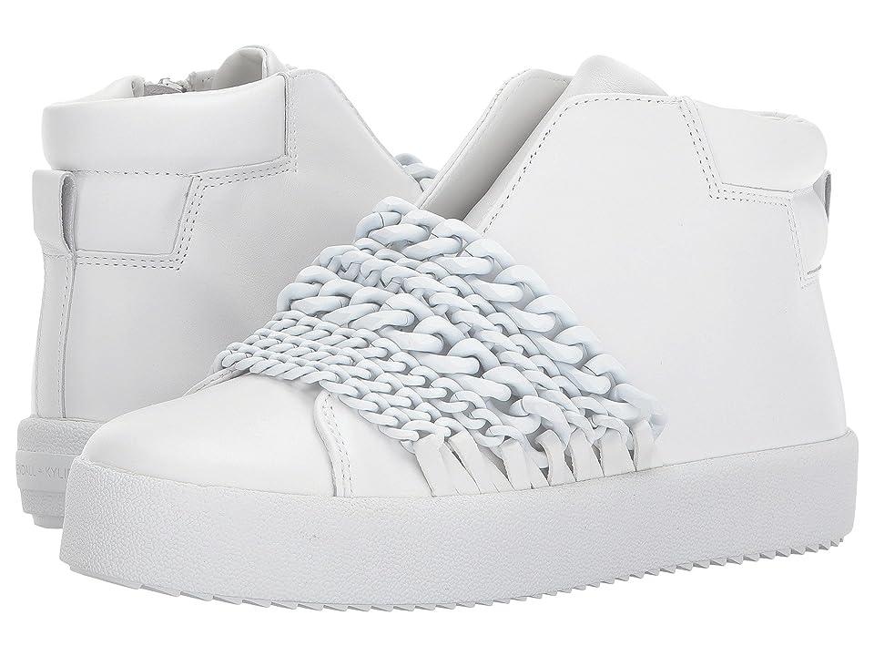 KENDALL + KYLIE Duke (White Leather) Women