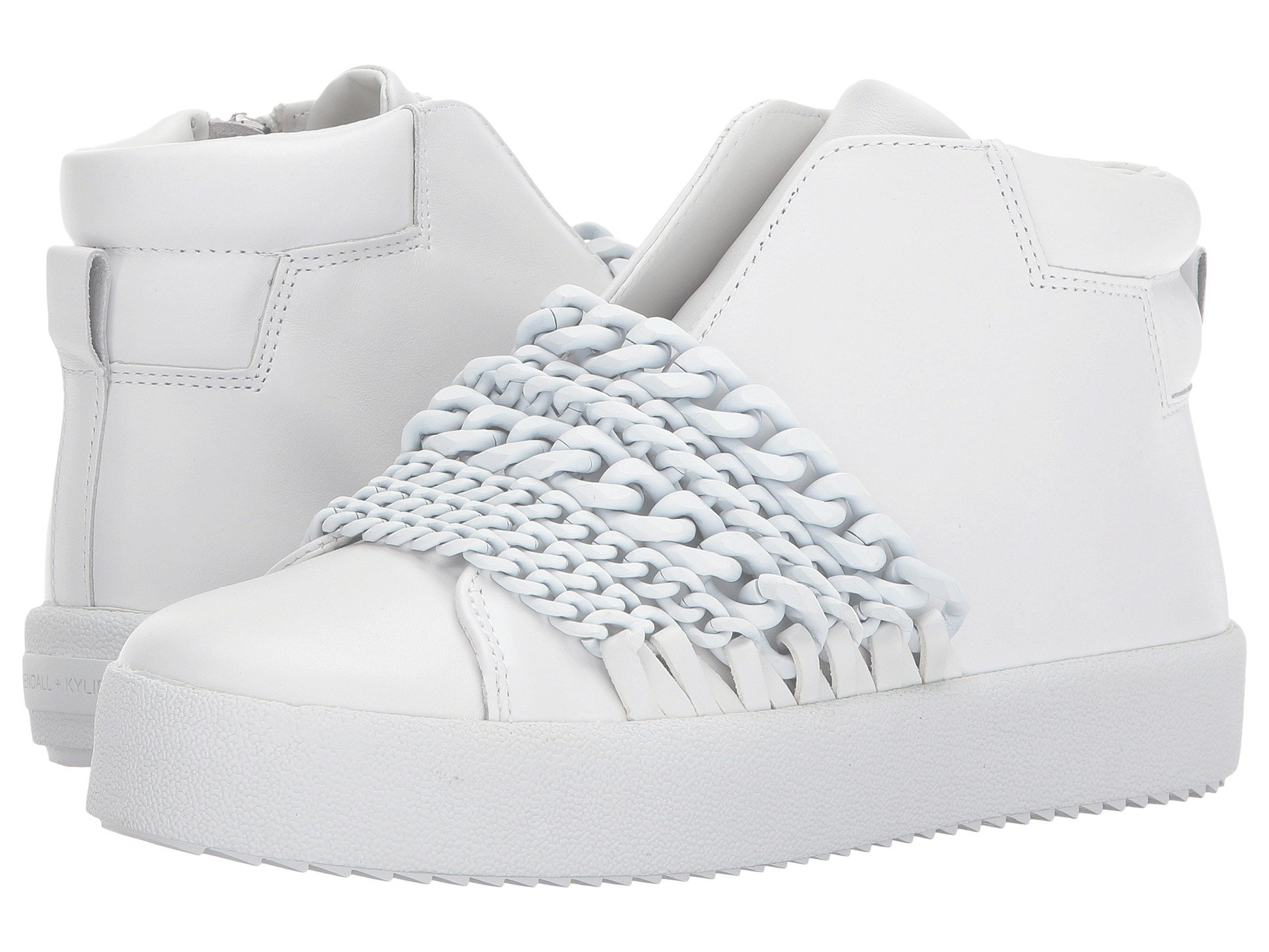 Duke, White Leather
