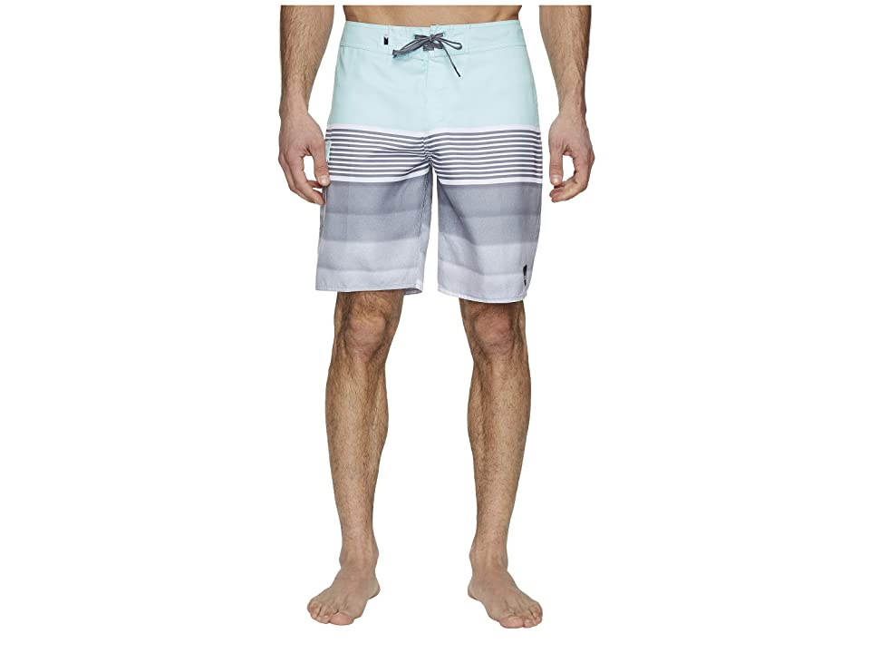 Quiksilver Division Solid 20 Boardshorts (Eggshell Blue) Men