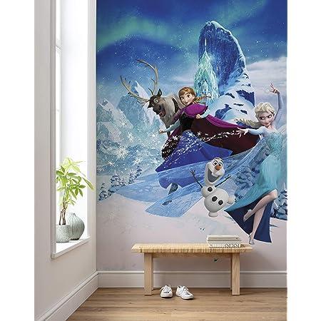Mädchen Schlafzimmer Tapete 368x254cm Elsa /& Anna Sisters Wandbild Disney Frozen