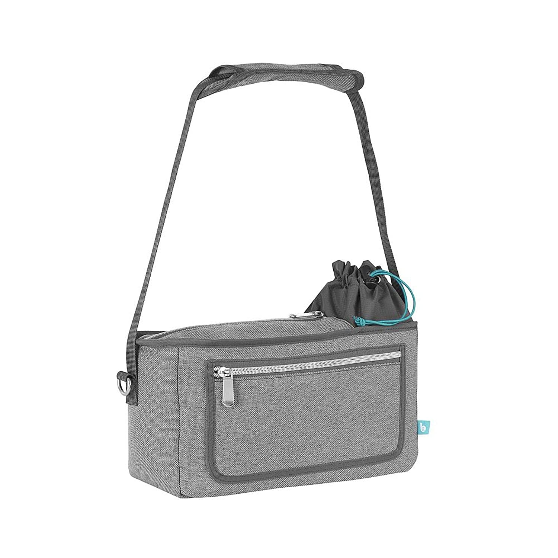 Babymoov Premium Universal Stroller Organizer | XL Storage, Full Zip Closure, Insulated Cup Holder and Smart Phone / iPhone Pouch