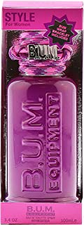 BUM EQUIPMENT Eau de Toilette Spray For Ladies, Style, 3.4 Fluid Ounce