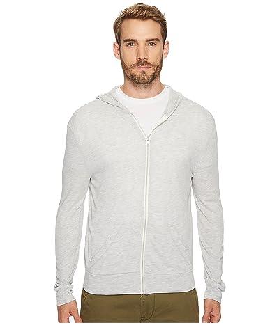Alternative L/S Zip Hoodie (Eco Light Grey) Men