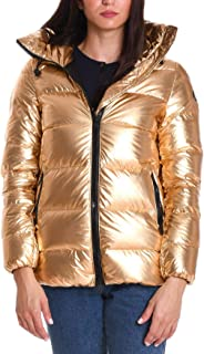 PEOPLE OF SHIBUYA Luxury Fashion Womens FUJIKONP010057 Gold Down Jacket |